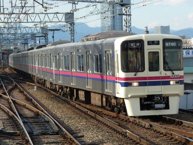 京王電鉄 各停 北野行き4 9000系