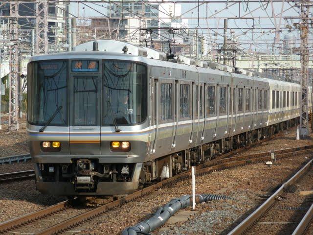 JR京都線 快速 大阪行き 221系・223系(平日6本運行)