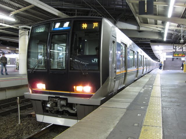 JR神戸線 普通 神戸行き 207系(平日2本運行)