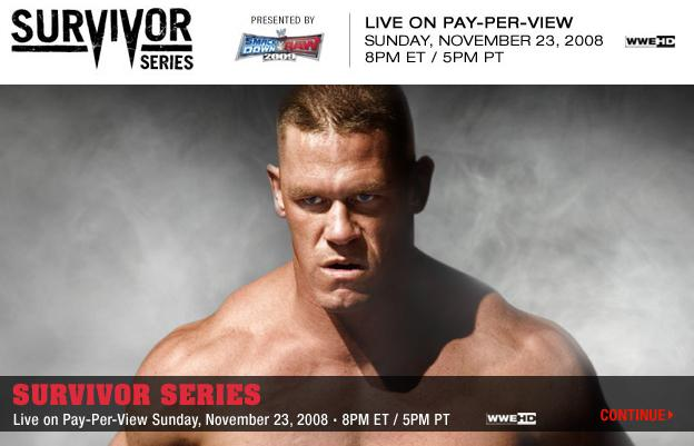 Wwe Presenta : Survivor Series