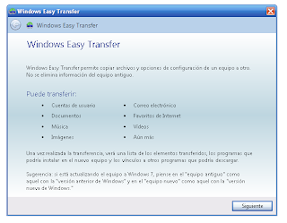 Windows 7 Easy Transfer 6.1.7600 (Para Windows XP)