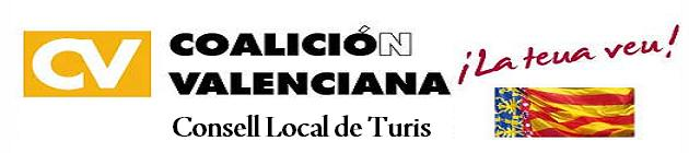 COALICIO VALENCIANA, CONSELL LOCAL TURIS