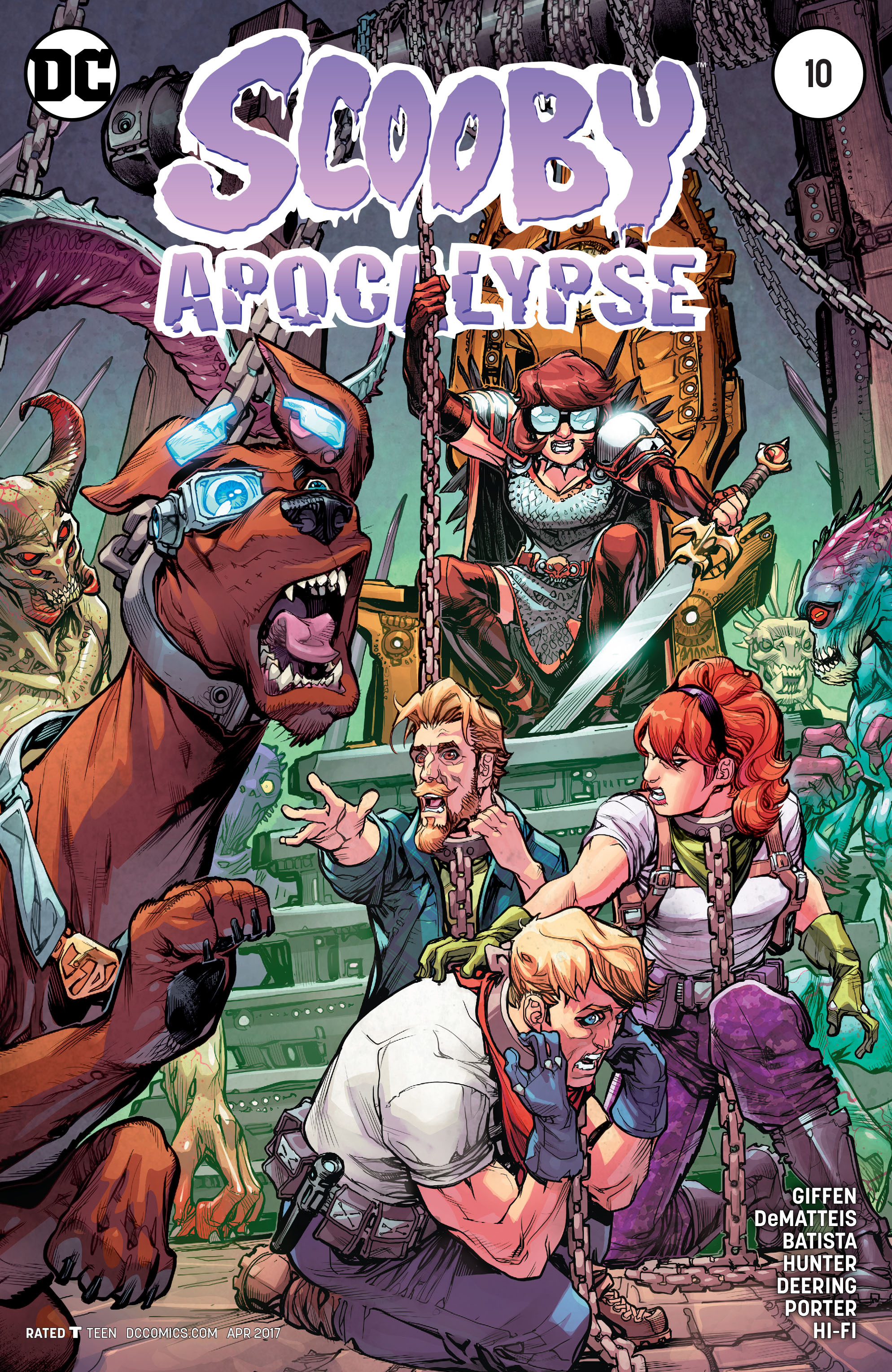 Scooby Apocalypse issue 10 - Page 1