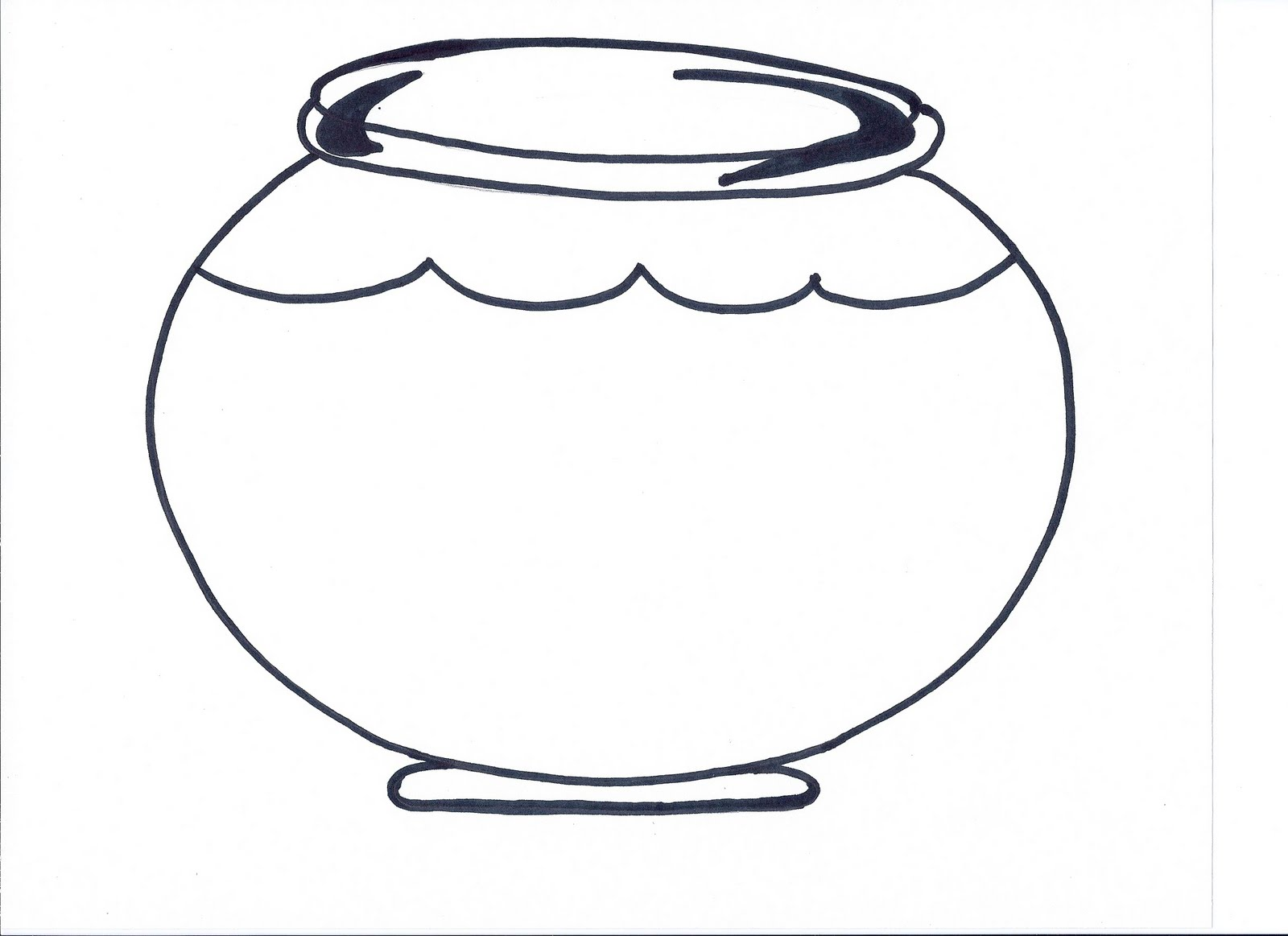 Simplicity image throughout printable fish bowl