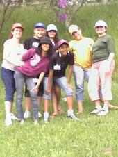Acampamento 2008! Eu, Rafaela, Ana Paula, Vanessa, Andressa, Bruna e Constância.