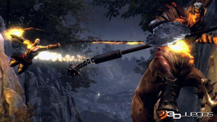 Arde el olimpo god of war 3 the gamer world for God of war 3 jardines superiores