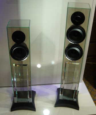In fact these glass-enclosed speakers work amazingly well. The advantages of glass are high density rigidity and (with the aid of a d&ing chamber ... & Computer Accessories: Waterfall Glass Speakers Actually Work