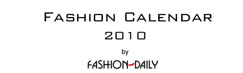 FASHION CALENDAR by Fashion-Daily