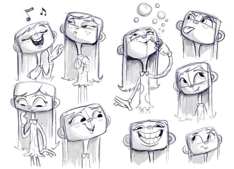 Comic Book Character Design Sheet : Chris kennett sunshine umbrella girl
