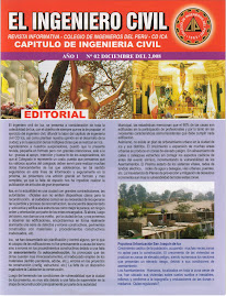 REVISTA EL INGENIERO CIVIL DE ICA
