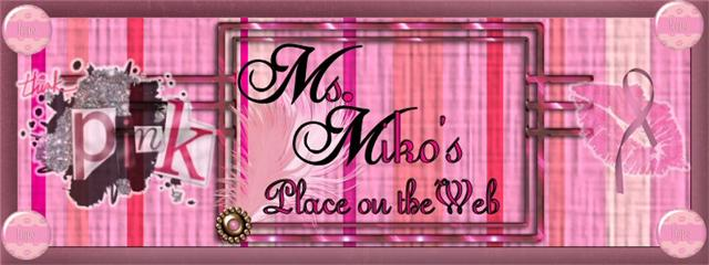 Ms. Miko's Place on the Web