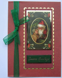 Hunkydory Christmas die cut toppers
