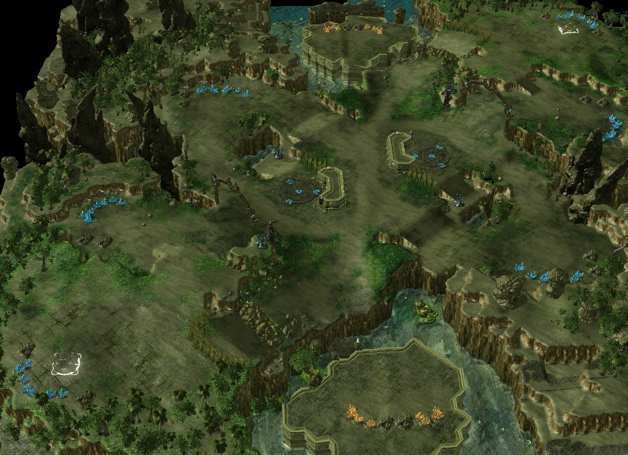 Working on my first starcraft 2 map outsider xandros editor gumiabroncs Gallery