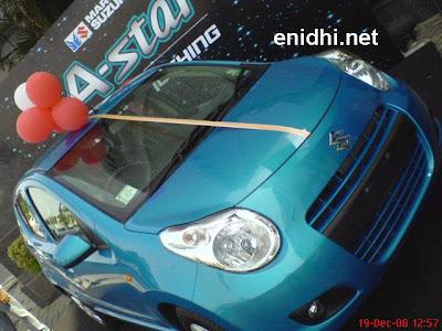 Maruti Suzuki A-Star front view