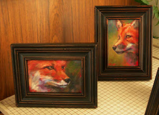 More Red Fox Paintings