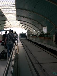 磁浮列車站