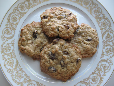 Oatmeal and Raisin Cookies for Little Monsters