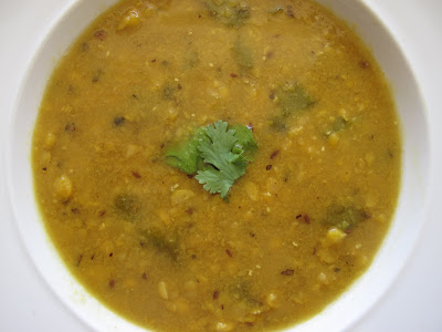 Split Moong Dal with Masala