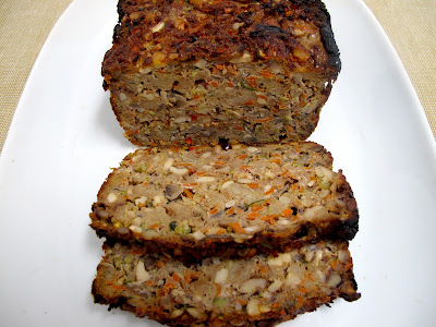 Vegetarian Nut Roast with Sherry Mushroom Gravy