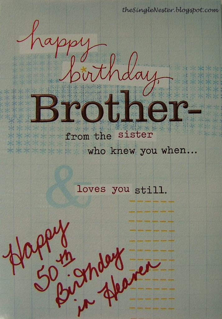 Gallery For > Happy Birthday In Heaven Brother Poem