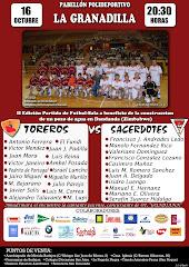 2º Partido Fútbol Toreros Vs. Sacerdotes