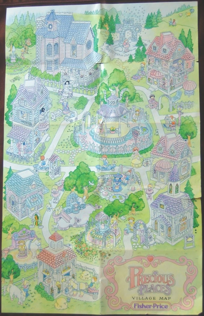 Precious places collector the village map variations i think it is easy to understand why there are two versions of the map since precious places were sold in europe and canada as well as in the usa gumiabroncs Choice Image