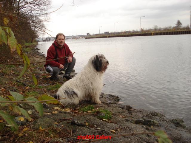 ...der Mann und sein Hund
