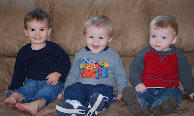 Tyler, Jordan and Jackson