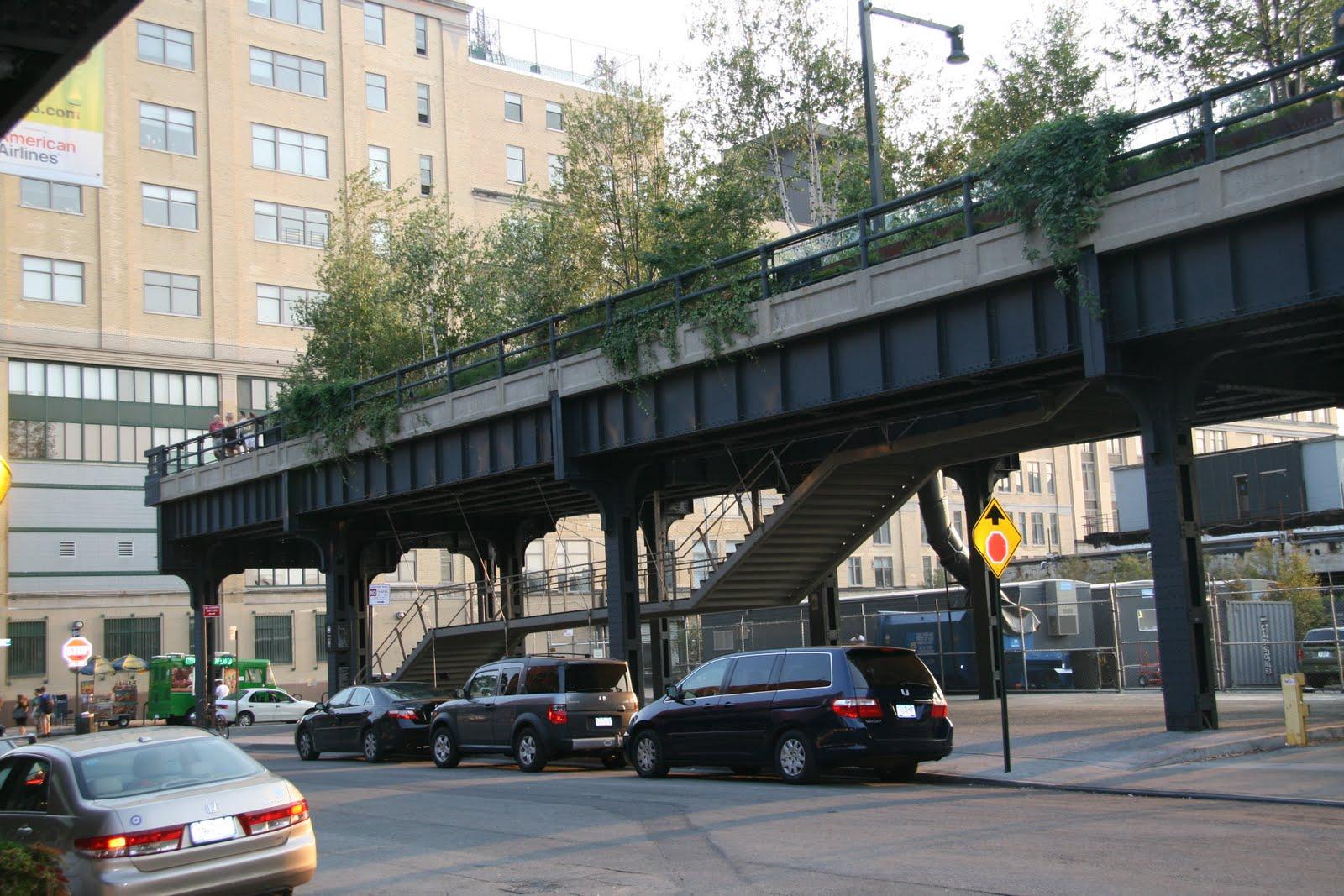 Gardening and gardens high line park new york city for New york city highline