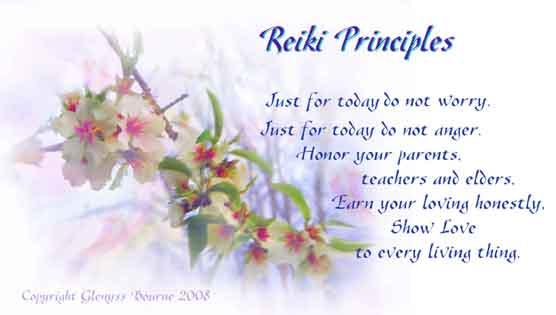 Doctor Usui's Reiki Principals