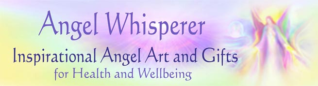 Angel Whisperer Inspirarional Angel Art & Flower Remedies