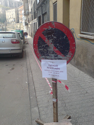 Senyal, llengua, aparcament