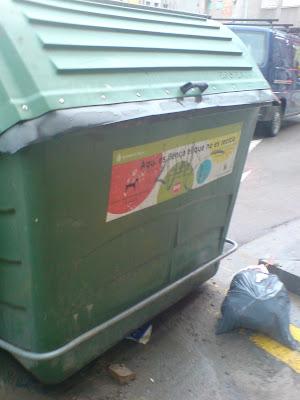 escombraries, deixalles, contenidor