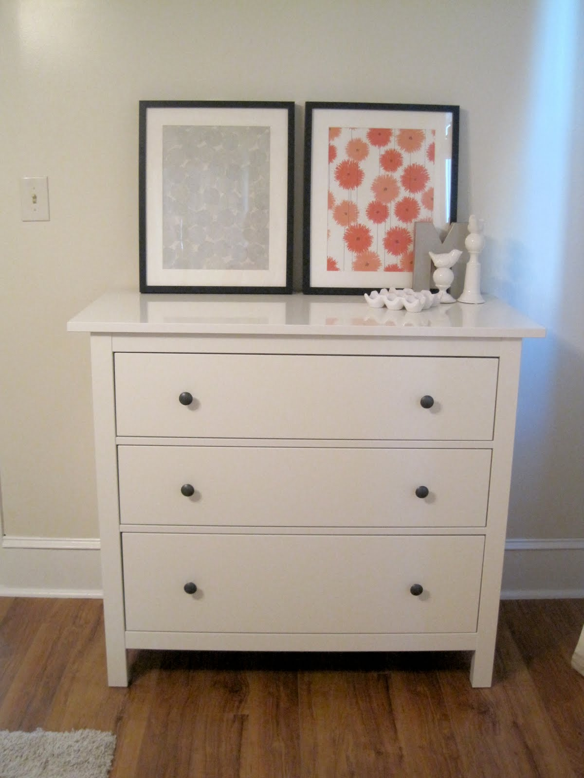 Cora anne designs inexpensive art update for Cardboard drawers ikea