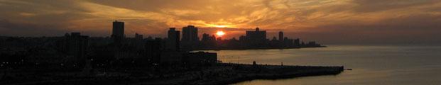 La Habana se despide del sol