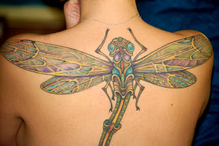 Dragonfly Tattoos back