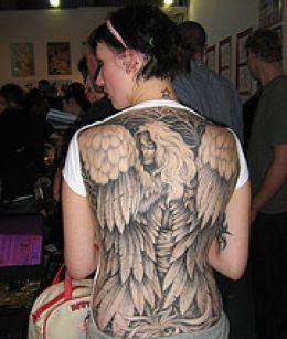 Full Back Angel Tattoos