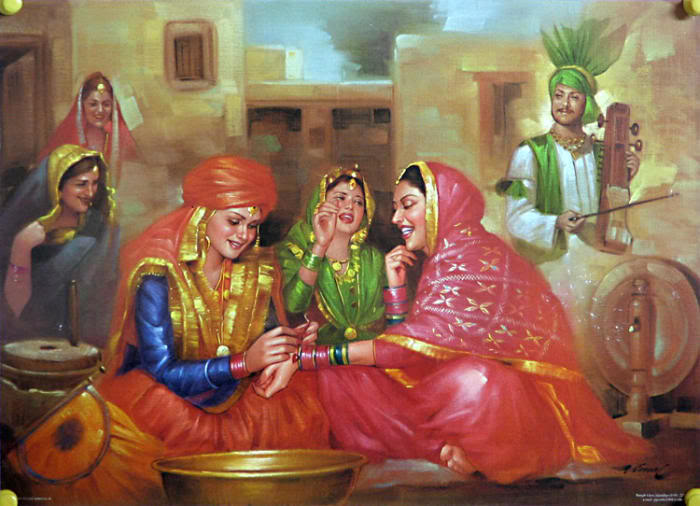 Classic paintings classic paintings of indian culture for Art of indian cuisine