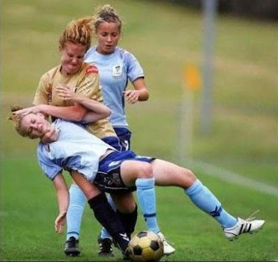 La chucky, futbol femenino