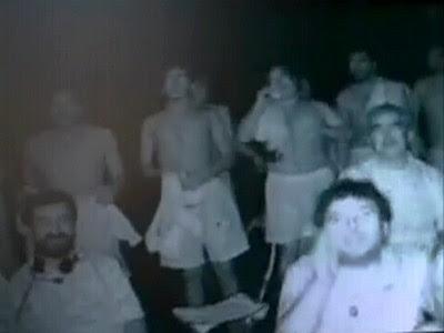 Los mineros chilenos vieron un partido de futbol a 700 metros de profundidad