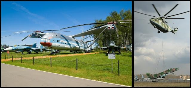 Mil Mi-12 y Mil Mi-26: los helicopteros mas grandes del mundo