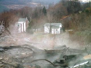 Incendio en la mina de carbon de Centralia