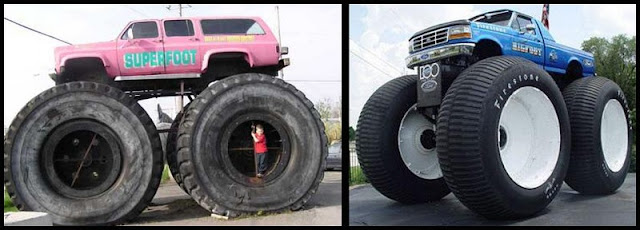 Los Monster Trucks Bigfoot mas grandes del mundo