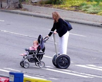 Vehiculo de transporte ligero Segway