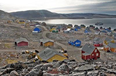 Ittoqqortoormiit, un pueblo de Groenlandia