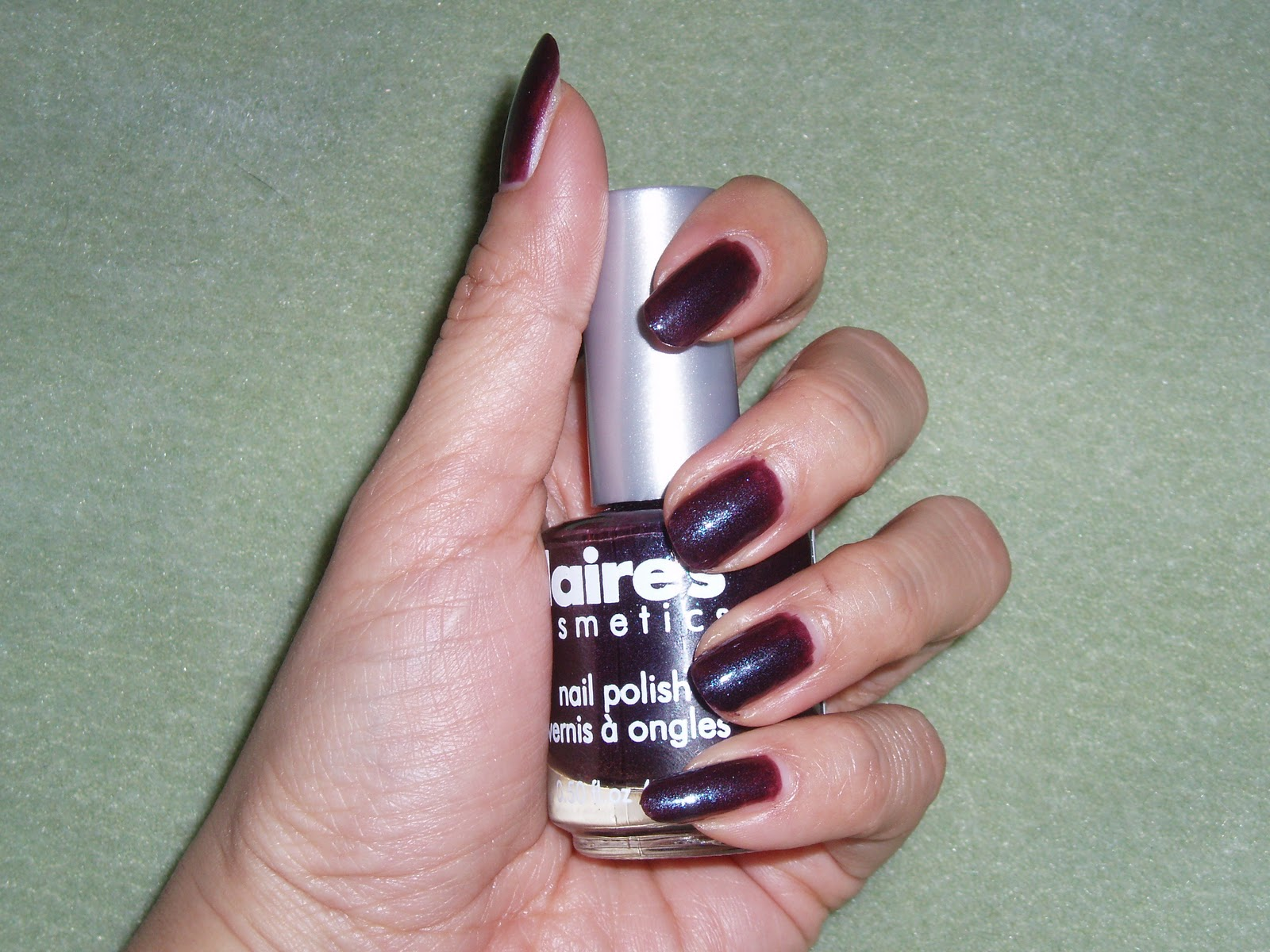 Sparkled Beauty: NOTD: Claire\'s Evil Queen