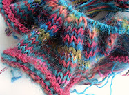 Knitting Project on the needles.