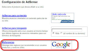 adsense referencias
