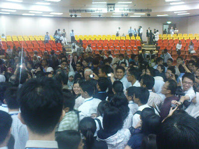 Tun Dr Mahathir's Visit