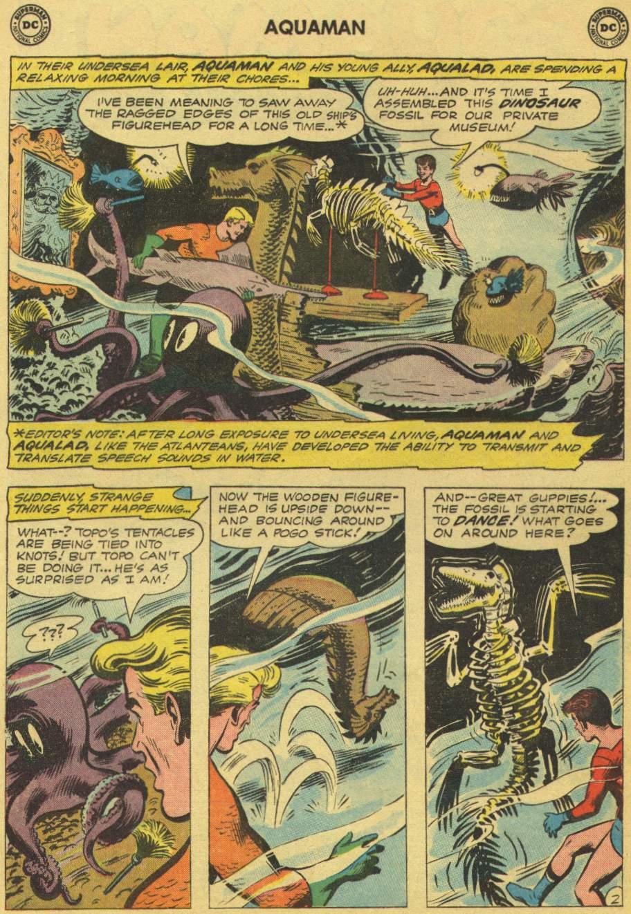 Read online Aquaman (1962) comic -  Issue #1 - 4